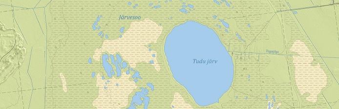 Fragment: Eesti põhikaart 1:10 000